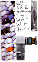 transforming the way we think, collage + mixed media, carrie roseland