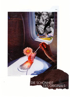 die schoenheit des originals, collage, carrie roseland